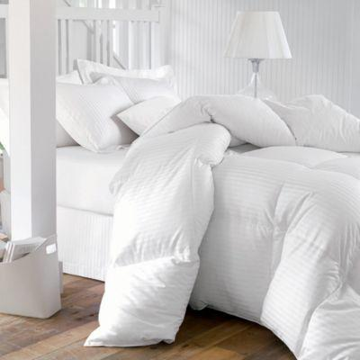 EuropeanStripedGooseDownComforter-750FillPower-600TC